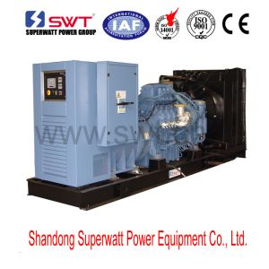 300kVA-3800kVA 50Hz or 60Hz Open Type Diesel Generator Set Powered by Mtu