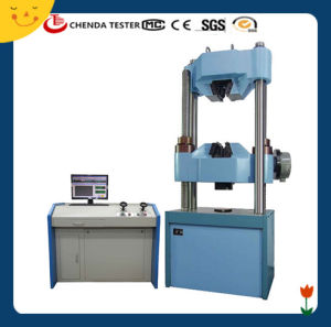 Computer Control Hydraulic Universal Testing Machine with Test Equipment pictures & photos