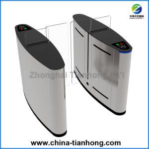 Biometric Fingerprinter Controlled Sliding Barrier Gate Turnstile Th-Fsg608 pictures & photos