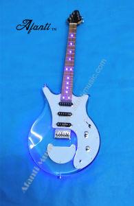 Afanti Transparent Crystal Guitar /LED Acrylic Electric Guitar (AAG-005) pictures & photos