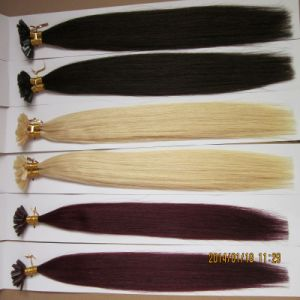 European Remy Italian Keratin Cold Fusion V Tip Hair Extension