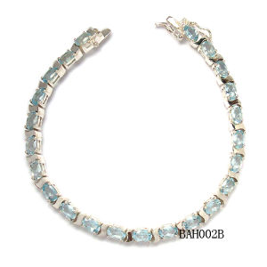 Fashionable 925 Silver Bracelet Bah002b
