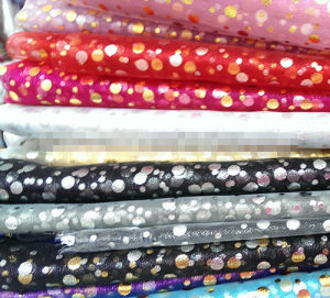 Snowflake Organza Fabric, Garment Fabric, Wedding Fabric. pictures & photos