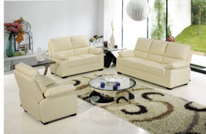 Leisure Leather Sofa 1+2+3 pictures & photos