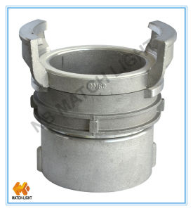 Aluminum Gravity Casting Female Bsp Thread French Quick Coupling pictures & photos