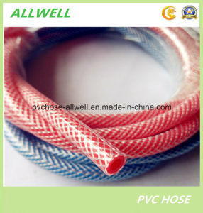 PVC Plastic Fiber Braided Water Fine Pipe Hose pictures & photos