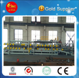 Steel Mineral Wool or EPS or Glasswool Sandwich Panel Line pictures & photos