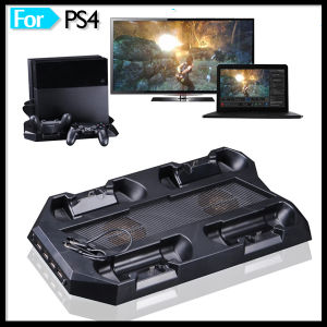 4 USB with 4 Controller Charger & Console Charging Cooling Fan Stand for PS4 pictures & photos