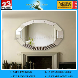1.5-6mm Vinyl Backed Safety Mirror with AS/NZS 2208 Decorative Modern Wall Mirror pictures & photos