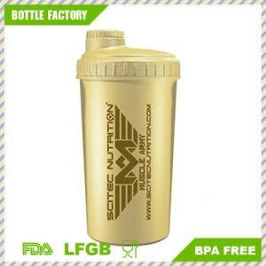 Free Sample 700ml Wholesale Custom Plastic Shaker Bottle pictures & photos