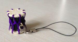 Okedo Taiko Ornament for Cell Phone Miniture Taiko