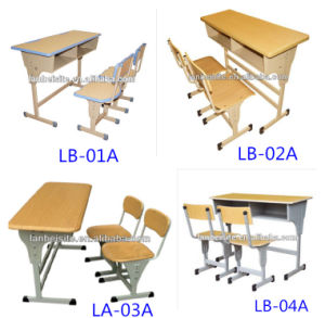 Lb-Zyz001 School Desk and Chair with Good Quality pictures & photos