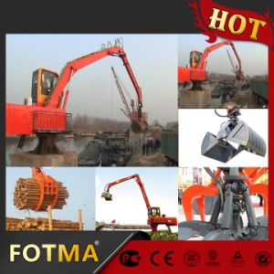 Rotation Rubbish Forceps Crane, Rotating Bale Seize Crane, Log Grab pictures & photos