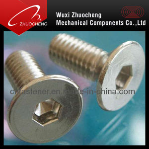 Hex Socket Countersunk Head Screw DIN7991 pictures & photos
