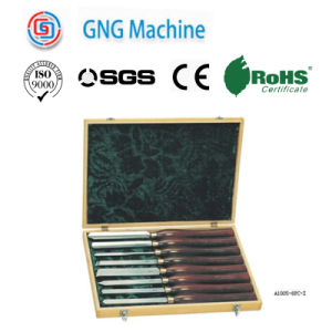 Professional Chisel Handle Wooden Turning Tool Sets Series pictures & photos