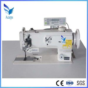 Single Needle Compound Feed Sewing Machine with Auto Thread Trimming pictures & photos