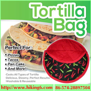 Micowave Tortilla Bag, Cooker Bag pictures & photos