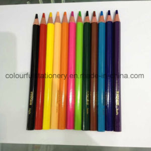 Customized Logo 12 Color Pencil Set pictures & photos