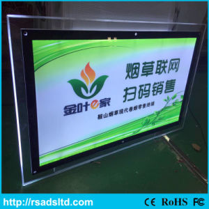 Brightness Crystal LED Slim Light Box Signboard pictures & photos