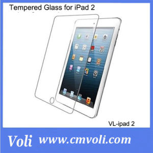 Glass for iPad 2 Tempered Glass Screen Protectors 0.44mm Thickness 9h Hardness pictures & photos