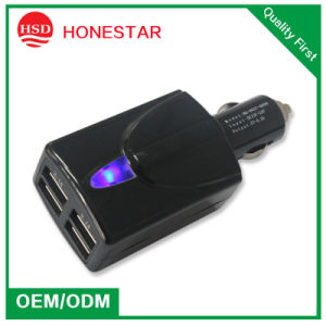 5V 6.2A USB Car Charger for Phone pictures & photos