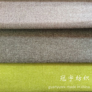 Compound Suede Fabric with Bronzing Process pictures & photos