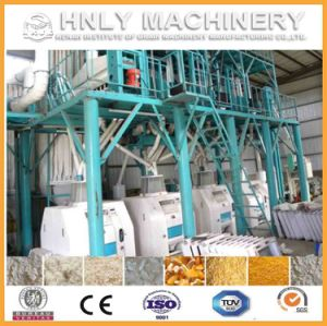 100t/D Complete Corn Milling Machinery/Maize Flour Mill pictures & photos