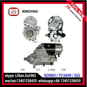 T13 Motor Starter for Bobcai Industrial Kubota (228000-5810/11) pictures & photos
