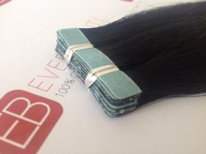 100% Cuticle Remy Hair Tape in Hair Extensions pictures & photos