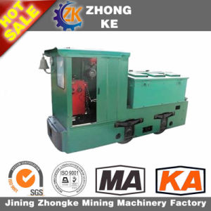 12ton Battery Operation Electric Locomotive with Two Battery