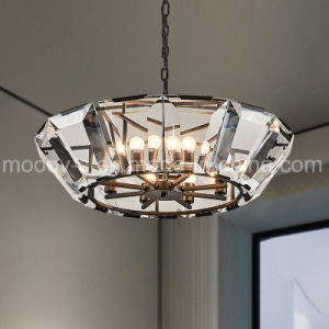 Modern Luxury Crystal Chandelier with E14 LED Bulbs for Living Room pictures & photos