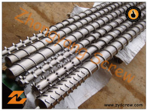 Bimetallic Screw Barrel for Each Kind (Welded / Centrifugal Casting) pictures & photos