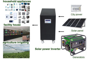 5000va Solar Hybrid Inverters Bulit in MPPT Charge Controller