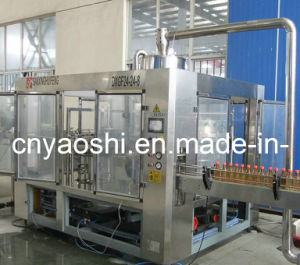 Vacuum Bottling Machine Carbonated Beverage Filling Machine pictures & photos
