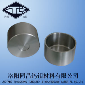 Pure Tungsten Forged Crucible for High Temperature Copper Melting Furnace pictures & photos