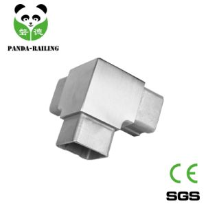 Stainless Steel Handrail Fitting Square Tube Connector Tee Elbow pictures & photos