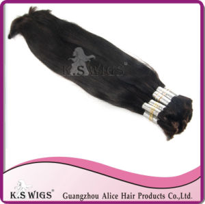 Bulk Hair Extension Indian Raw Remy Hair pictures & photos