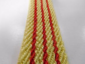 20mm Secondary Aramid Fiber Elastic Webbing for Fireproof Helmets pictures & photos