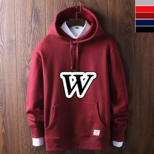 (OEM) 2017 Pullover Bulk Custom 100% Cotton Men′s Hoodies, Winter Jackets pictures & photos