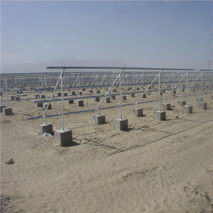 Ground Portable Photovoltaic Solar Power System Solar Mounting Kit
