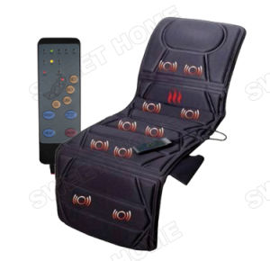 Vibrating and Heat 10 Motors Whole Body Massage Cushion pictures & photos