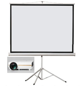 Cheap Factory Price of Tripod Projector Screen Projection Screen pictures & photos