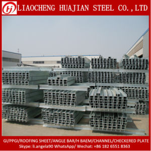 Hot DIP Galvanized H Iron Beams for Workshop pictures & photos