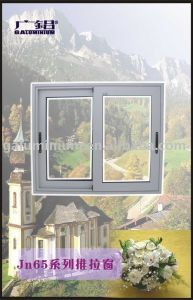 Thermal Break Aluminium Sliding Glass Windows pictures & photos