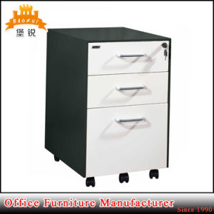 Universal Metal Office 3-Drawer Mobile Steel Filing Pedestal Cabinet pictures & photos