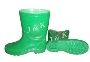 PVC Rain Boots for Children (JK46521) pictures & photos