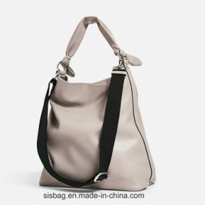 PU Bowknot Hand Hobo Bag for Women pictures & photos