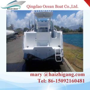 Hot Sale Aluminum Cabin Boat Walk Around Boat Pleasure Fishing Yacht pictures & photos