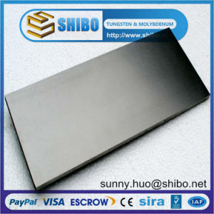 99.95% Pure Tungsten (W) Plate, Tungsten Sheet for Sale pictures & photos