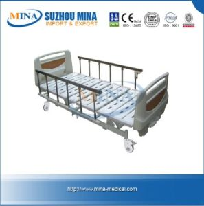Professional 3 Crank Manual Hospital Bed with Castor (MB106-H)